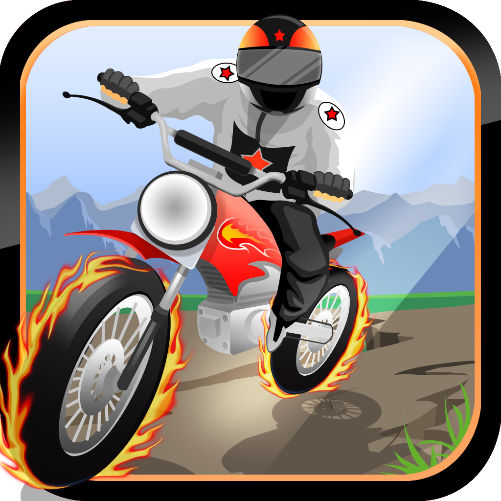 Race Bike Rider - The Baron highway Draw Free